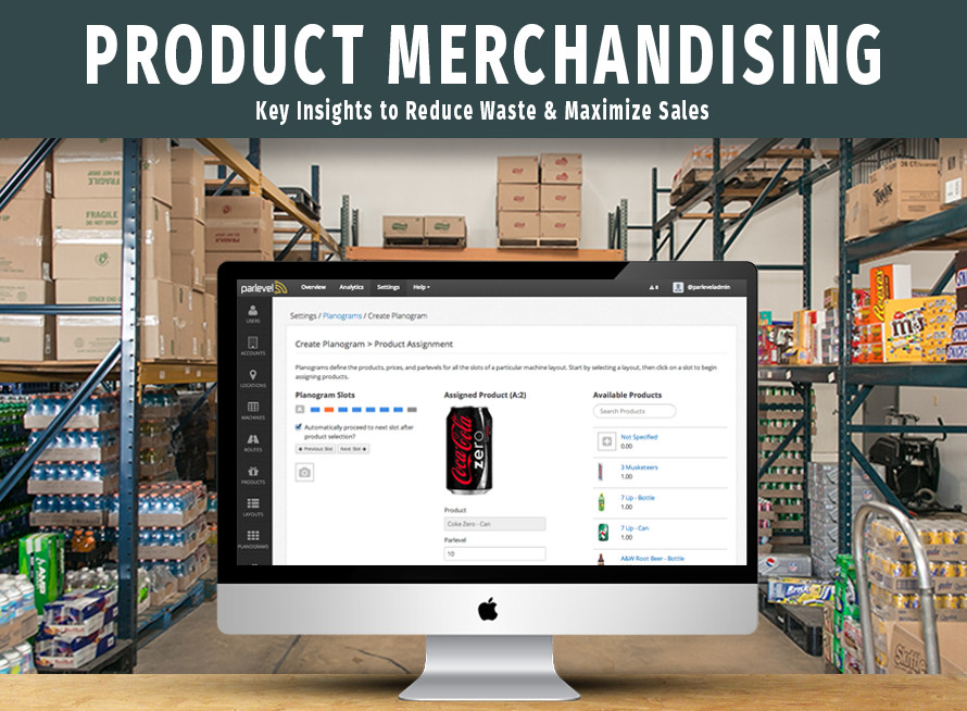 Get the Most out of Your Vending Machine Products with Product Merchandising