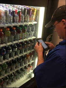 Driver App Vending Machine Technology